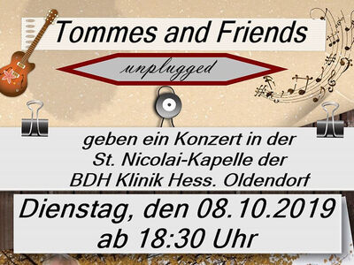Plakat Tommes and Friends